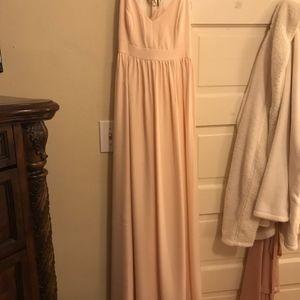 Pink J.Crew Long Dress